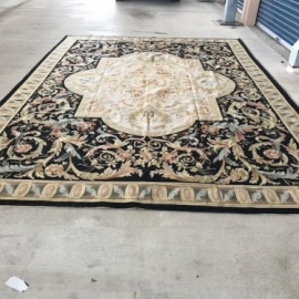 Handwoven Aubusson Rug