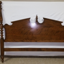 Ethan Allen Pediment Queen Bed