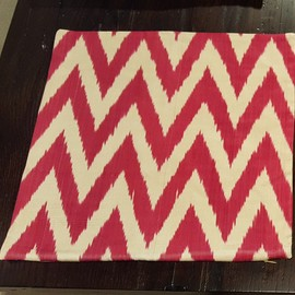 Silk Ikat Pillow Cover (Frt Only)