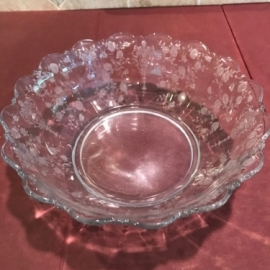 Rosepoint Clear Serving Bowl 11 inch
