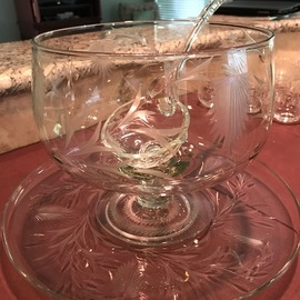 24 Cup ValCraft Punch Bowl and Ladle