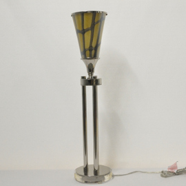 Pair of Torchier Lamps and Shades