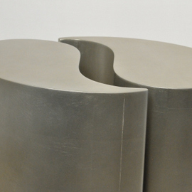 Caracol End Quote Side Tables Pair